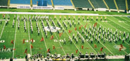 L.D. Bell High School Band has won a number of state and regional championships