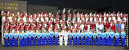 Tennessee High School Mighty Viking Band at the US Scholastic Band Association National Championships, 2006